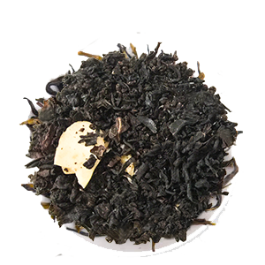Black Loose Leaf Tea at Tea's Me Cafe