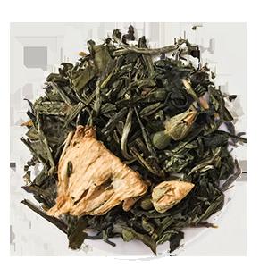 White Loose Leaf Tea at Tea's Me Cafe